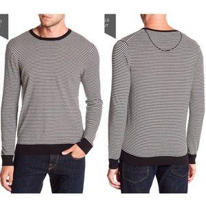 SCOTCH & SODA Cashmere Blend Striped Sweater Knit